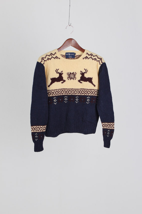 Polo RalphLauren Wool Sweater (S)